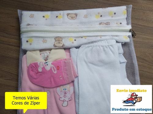 Saquinhos Maternidade Com Zíper  6 (peças) Envio Imediato!!!
