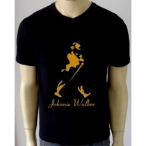 Camiseta Johnny Walker - Camisa Jack Daniels, Personalizada