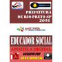 Apostila Prefeitura Rio Preto Sp Educador Social 2016