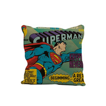 Almofada Superman Com Enchimento Dc Comics