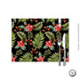 Jogo Americano Haus For Fun Hawaiian Floral Black 30x40