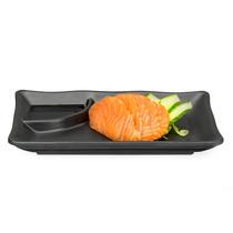 Prato Sushi-sashimi Com Porta Shoyu