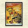 Antigo Poster Cartaz - Filme Cinco Dias Em Um Balão De 1962