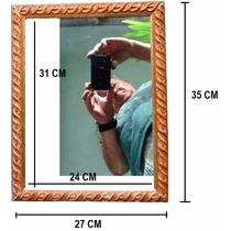 Moldura Com Espelho - Ornato Rústico - 35x27 Cm - 50% Off!!