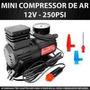 Mini Compressor De Ar -carros,moto,bike,bola,balões,inflávei