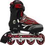 Patins Rollers B Future Inline Bel Sports Vermelho Original