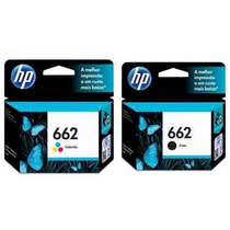 Par De Cartucho Original Hp 662 Hp 2516 3546 3516 1516 2546