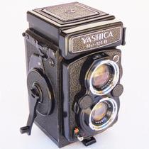 Maquina Fotográfica Câmera Yashica Mat 124 B Objeto Antigo