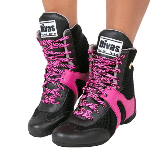 dd8755ed1bf Bota Botinha Divas Fitness Treino Academia Crossfit + Toalha