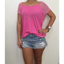 Camiseta Feminina Blusa Camisa Abercrombie & Fitch Original