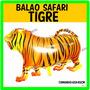 Balão Metalizado Safari Tigre