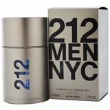 Perfume Carolina Herrera 212 Masculino Edt 50ml + Amostra