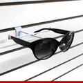 Suporte P/ Óculos Expositor P/painel Canaletado Kit 10 Unid.