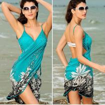 Canga Moda Praia Saída De Praia Vestido Sáida De Praia