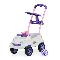 Baby Car Branco E Lilas Homeplay