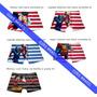 Cuecas Infantis Kit Com 5 Peças Promoção