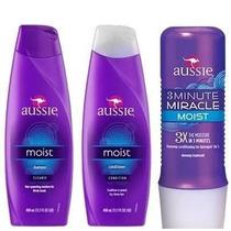 Kit Aussie C/03 Shampoo+condicionador+mascara