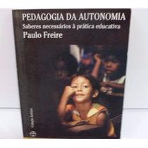 Pedagogia Da Educação - Paulo Freire