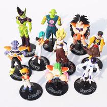 Dragon Ball Z Gt Kit Com 20 Bonecos Goku Gohan Frezza Dbz
