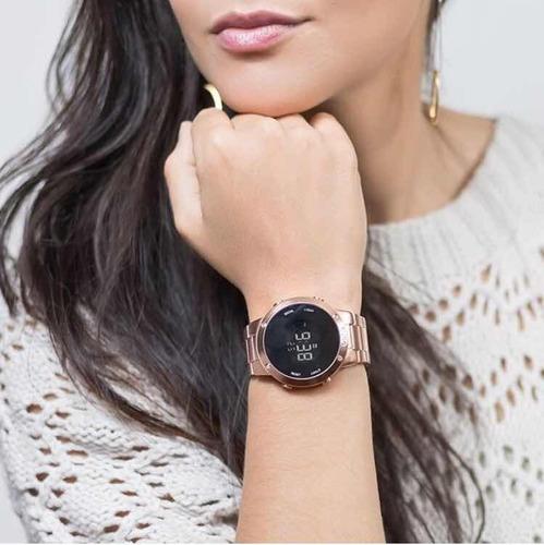 Relógio Euro Digital Rose Gold Eubj3279af 4j Fashion Fit. R  239.9 3dbdd53766