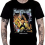 Camiseta Manowar - Warriors Of The World (preta)