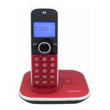 Telefone Sem Fio Motorola Gate4800 Vermelho