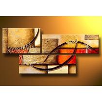 Quadro Abstrato Cod 1711 (168cm (l) X 80cm (a))