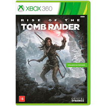 Rise Of The Tomb Raider - Xbox 360 - Midia Fisica Lacrado