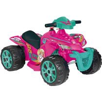 Quadriciclo Elétrico Barbie 6v Bandeirante