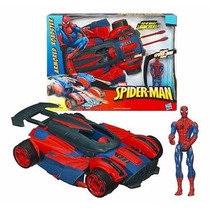 Boneco Marvel Homem Aranha Véiculo De Ataque Hasbro