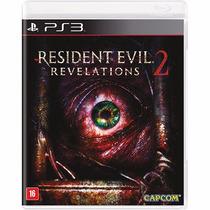 Resident Evil Revelations 2 - Ps3 - Lacrado - Original
