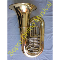 Tuba Sinfônica Sib 4 Rotores Quasar Qtu 703