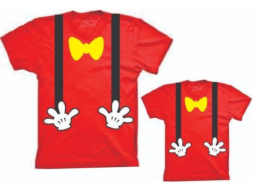 4741aaf48c1237 Fantasias Camisetas Tal Mae Tal Filho(a) Mickey E Minnie à venda em ...