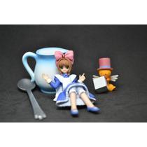Miniatura Boneca Sakura Japonesa Jarra Colher Ursinho