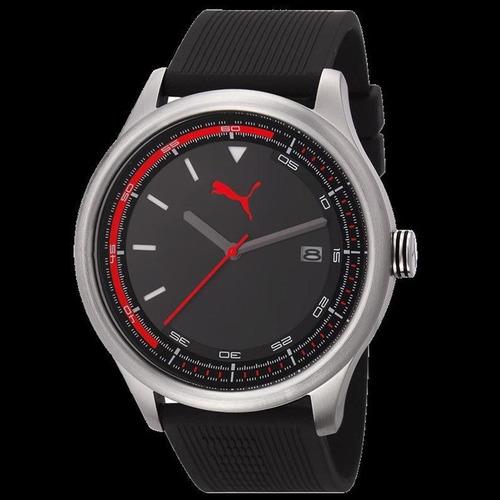 Relógio Puma Masculino Esportivo Fundo Preto 96176g0pmnu2. R  398 87f3deb8ce