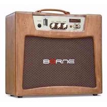 Amplificador Valvulado Para Guitarra Borne T 7 Somos Loja