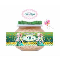 50 Rótulos Adesivos Personalizados Para Pote Papinha Nestle