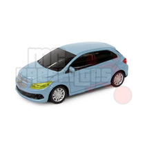 Carro De Controle Remoto Chevrolet Onix Azul Claro 1:24