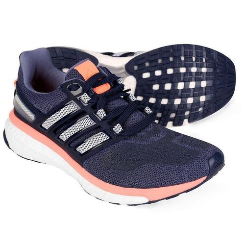 Tenis adidas Energy Boost 3 Marinho coral d83a8d338091b