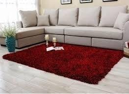 Tapete sala 3 00x2 00 felpudo peludos vermelho cereja r 235 9 ti6ax precio d brasil for Salas modernas precios