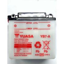 Bateria Yuasa Suzuki Yes125 En Katana 125 Intruder 125 Yb7-a