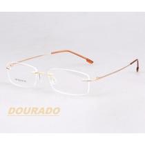 f862e33ff Armação P/ Óculos De Grau Sem Aro Em Titânio Memory 9 Cores à venda ...