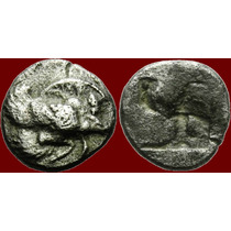 Ionia, Klazomenai Diobol Moeda Antiga Grega Grecia