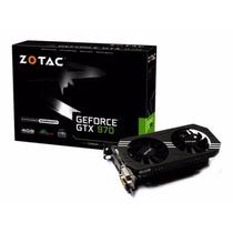 Placa De Vídeo Nvidia Zotac Gtx 970 4gb Ddr5 256bits