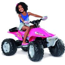 Quadriciclo Elétrico Fashion 12v Rosa - Brinquedos Bandeiran