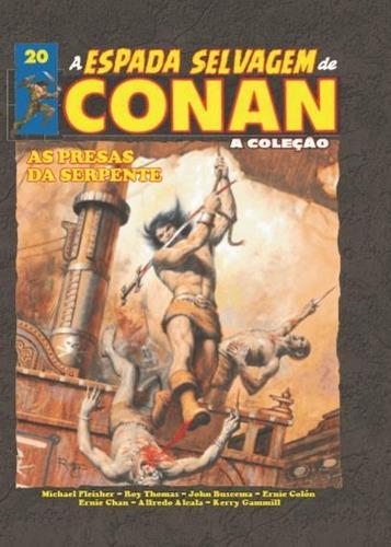 A Espada Selvagem De Conan - Vol. 20 - Capa Dura