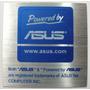 Adesivo Original Powered By Asus