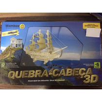 Quebra Cabeça Em Madeira Navio Pirata 151 Peças