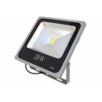 Refletor Led Holofote 20w Bivolt Branco Frio Pronta Entrega