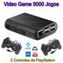 Vídeo Game Retro 16gb   2 Controles De Fio